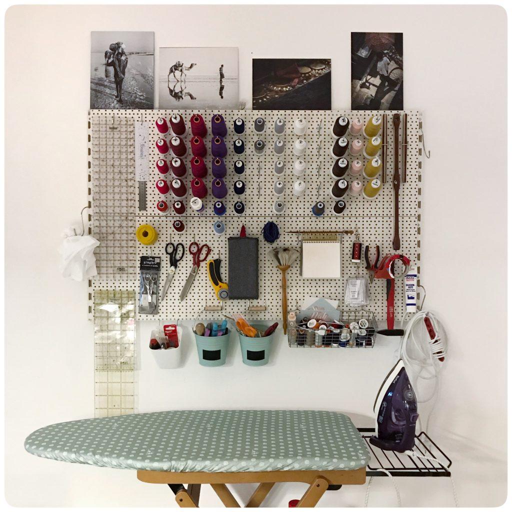 Die große Werkzeuglochwand: Sortieren und ordnen leicht gemacht.